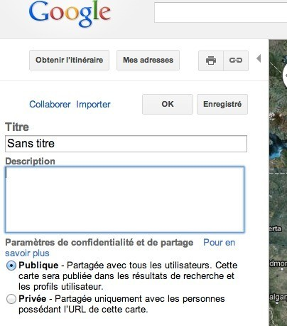 Configurer une carte Google Maps
