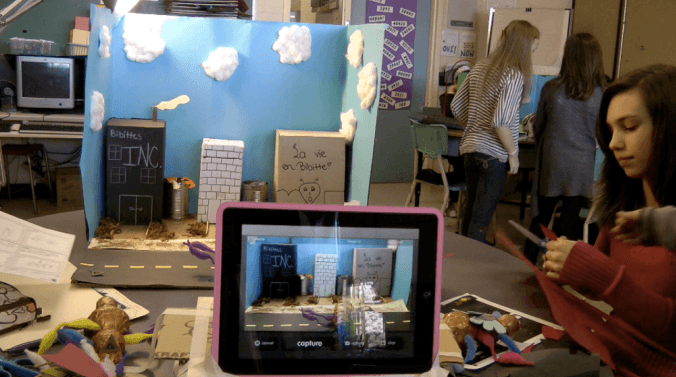 Cinéma animation iPad