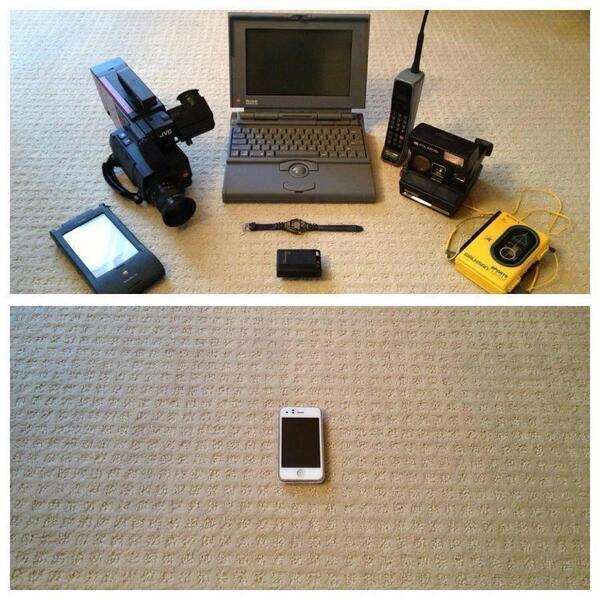 Évolution techno