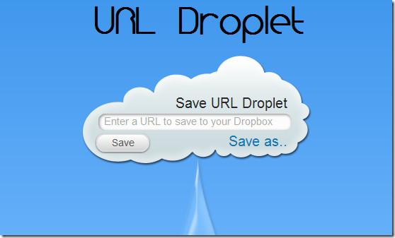 URL-Droplet
